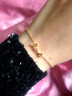 Bracelet minimaliste argent 925 ou plaqué or - parfait pour un cadeau de la boutique JeanneSummer sur Etsy