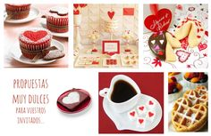 Candy bar. Ideas para bodas en San Valentín