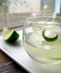 Gin and Tonic Jello Shots