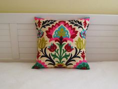 "Waverly Santa Maria in Desert Flower 18""x18"" or 20""x20"" Pillow Cover on Etsy, $40.00"