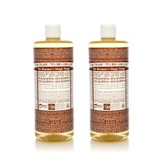 Dr Bronner: beauty products