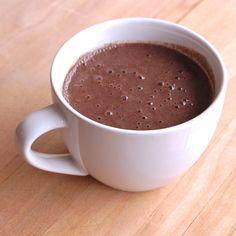 Vegan Chocolate Maca Smoothie l inmybowl.com