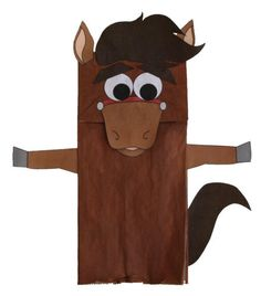 Year of the Horse - Paper Bag Horse Craft  sc 1 st  Pinterest & Paper Plate Horse Craft being made this Saturday July 28th. | Farm ...