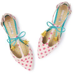 Boden Alice Flat ($44) ❤ liked on Polyvore featuring shoes, flats, boden, boden shoes, t bar flat shoes, flat shoes and denim flats
