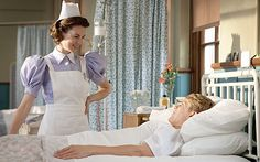 Jessica Raine as Nurse Jenny and George Rainsford as Jimmy in 'Call the Midwife' (BBC)
