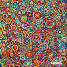 Hallucinogenic Art | Psychedelic Bubbles Painting by Manami Yagashiro - Psychedelic Bubbles ...