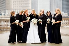Brides: Chicago Real Wedding Photos: A Romantic Winter Wedding in Chicago
