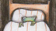 Era uma vez um sapinho que tinha medo da noite, que transformava em monstro cada barulho que ouvia. E se refugiava na cama dos pais em busca de proteção. Um sapinho fofo, pra lá de simpático, que a...