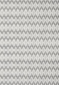 BALIN IKAT, Black, AT79133, Collection Small Scale from Anna French