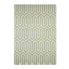 Colours Larissa Cream & Turquoise Rug (L)1700mm (W)1200mm | Departments | DIY at B&Q