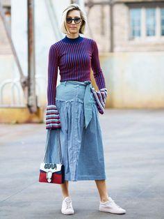 50 Street Style Looks to Inspire Your Summer Wardrobe via @WhoWhatWearUK