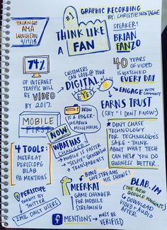 The need for rapid content creation - graphic recording