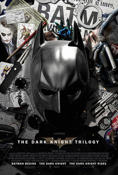 The Dark Knight Trilogy Poster
