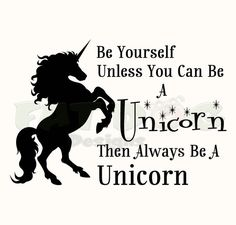 Unicorn Wall Decor, Always be yourself unless you can be a Unicorn, Girls Room Wall Decoration, Unicorn Wall Decal, Wall Sticker. Unicorn Wall Decal, Unicorn Stickers, Wall Stickers, Vinyl Decals, Wall Decals, Wall Art, Unicorn Tattoos, How To Remove, How To Apply