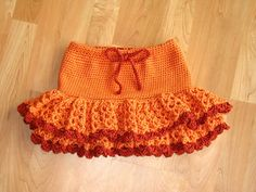 Peach child skirt free crochet graph pattern that can easily convert ravelry sedona toddler skirt pattern by darlene dale dt1010fo