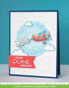 Lawn Fawn | Plane & Simple