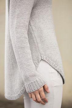 Mix No.31 pattern by Lori Versaci - fin detalje                                                                                                                                                                                 More #knittingpatternssweaters