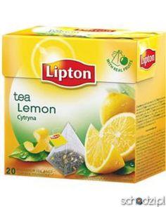Herbata Lipton Cytrynowa ekspresowa 20t - Schodzi.pl
