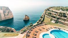 Hotels am Meer – die schönsten 7 Hotels mit Meerblick Algarve, Hotel Am Meer, Hotel In Den Bergen, Portugal, All Continents, Country, Water, Lilies, Travel