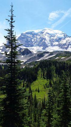 Mount Rainier National Park, WA down and up Wanderlust Quotes, Wanderlust Travel, Moraine Park, Life Is An Adventure, Adventure Travel, Mount Rainier National Park, John Muir, Closer To Nature, Beautiful Places
