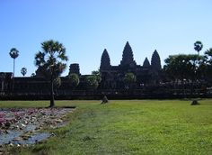 the amazing Angkor Wat Temple in Siem Reap Cambodia - UNESCO World Heritage Site