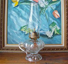 Finger Oil Lamp Banner Burner by cynthiasattic on Etsy, $54.00