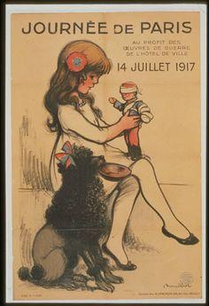 Journée de Paris . . . 14 Juillet 1917