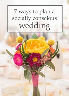 7 Tips For a Fair Trade, Local, and More Ethical Wedding! Socially Conscious Bridal Ideas - Weddings That Give Back #LiveLifeFair