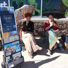Public witnessing in Roswell, New Mexico.