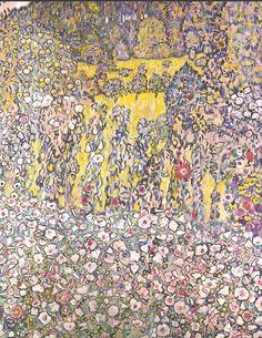 Horticultural landscape with a hilltop - Gustav Klimt