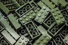 100pc Imex 2x4 Stud Translucent Aqua Compatible Bricks