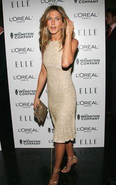 Poshly exhilarating Jennifer Aniston
