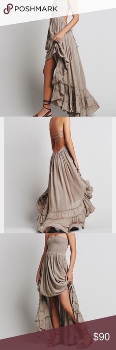 Free people extratropical maxi dress New been worn-without tags. In perfect condition and absolutely stunning dress! Color sold out online. Free People Dresses Maxi