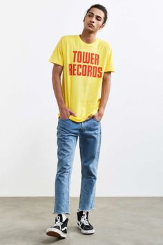 Tower Vintage Stack Tee - Urban Outfitters