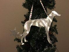 Greyhound Dog Metal Holiday Ornament Christmas Ornament Handcrafted Dog Lover Gift Stocking Stuffer Greyhound Rescue Gift Dog Lovers Pembroke Welsh Corgi Grey Hound Dog Dog Lover Gifts