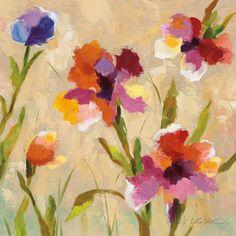 Bold Bright Flowers III Poster by Silvia Vassileva at AllPosters.com