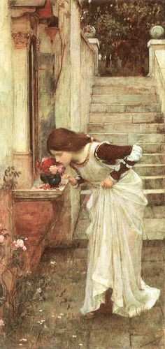 The Shrine  ~ by John William Waterhouse, 1849-1917