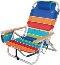 EuroTrail Sete strandszék Outdoor Chairs, Outdoor Furniture, Outdoor Decor, Caravan, Camping Bedarf, Aluminium, Beach, Design, Color