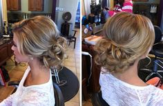 Low curly updo - PERFECT!! Exactly how i want my hair