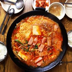 "The Story of Budaejjigae, Korea's ""Army Base Stew"" (부대찌개)"