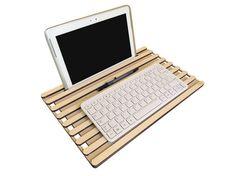 Laser cut wood tech organizer,tablet stand,bed desk,lap desk,portable desk,travel desk,sofa desk,lap board,tech lover,unique gift,tech gift