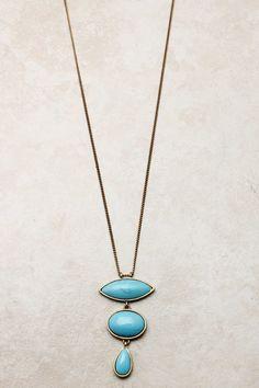 Turquoise Lamire Necklace   on emma stine