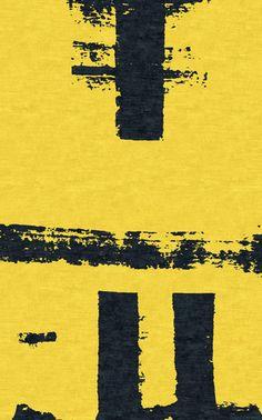 Mod Yellow Jacket modern designer Rugs – Kush Handmade Rugs in Portland, OR
