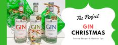 Gin and Tonics for the Festive Christmas Season Festive Cocktails, Christmas Cocktails, Craft Gin, Gin And Tonic, Food Festival, Drinks, Bottle, Tips, Blog