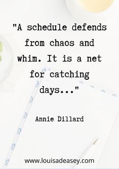 This is one of my favourite quotes on the importance of sticking to a consistent schedule when it comes to your #writing.