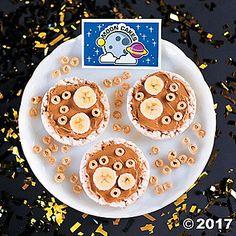 explore the delicious craters and ridges of the lunar surface with this gods galaxy vbs healthy moon cakes snack recipe idea