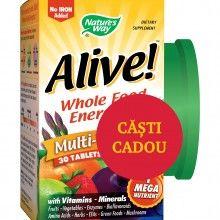 Alive!™ (fara fier adaugat), 30 tablete