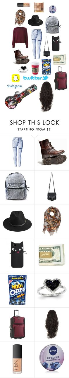 """Visiting dad."" by kathrynclifford on Polyvore featuring Chicnova Fashion, BeckSöndergaard, Kevin Jewelers, NARS Cosmetics and Nivea"