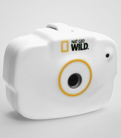 This camera is made to strap onto your dog's collar so you can see what they see...totally fun in a bizarre, random way.