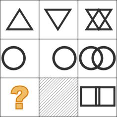 Take this free abstract reasoning test online right now. Practice your abstract reasoning skills for assessment test preparation with this psychometric test. Reasoning Test, Logic Puzzles, Test Preparation, Mind Games, I Am Scared, Assessment, Symbols, Abstract, Lettering